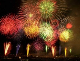 Spettacoli pirotecnici, fuochi d'artificio