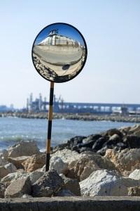 Installazione di specchi parabolici